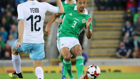 Norwich City youngster Jamal Lewis is away with Northern Ireland during the international break Pict