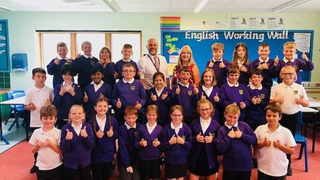 Dereham Church of England Junior Academy has been rated good in all aspects by Ofsted. Picture: Supp
