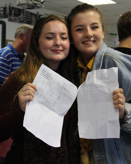 GCSE results day 2018 at Reepham High School and College. Picture: Reepham High School and College