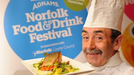 City College's Steve Thorpe at the launch event of the 2012 Norfolk Food and Drink Festival. Photo: