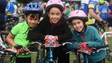 We applauded these siblings Daniel, six; Isabella, 10; and Sofia Johnson, eight; after they complete