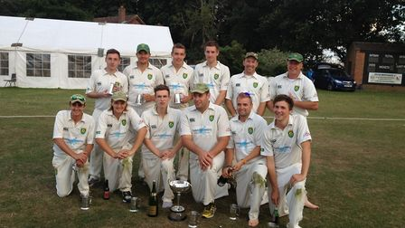 2013 Carter Cup wiiners Great Witchingham Picture: CLUB