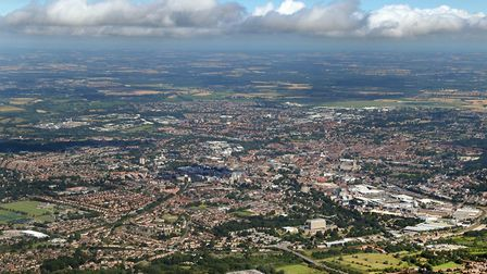 Could Norwich become a garden city? Picture: Mike Page