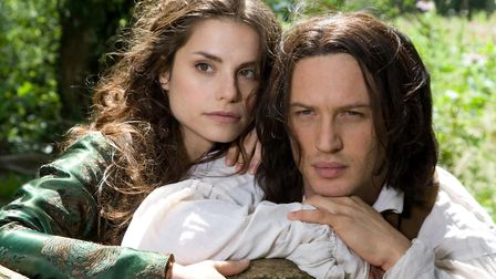 Tom Hardy as Heathcliff and Charlotte Riley as Cathy, starring in a classic adaptation of Emily Bron