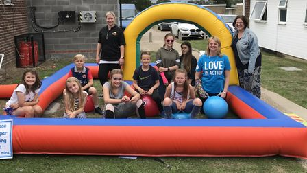 Lots of fun was had at the charity fundraiser held at Sunbeach Holiday Village
