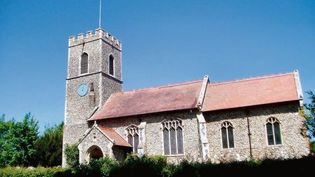 Eco-homes plans were judged unsympathic to Grade I listed All Saints Church in Wreningham. Picture: