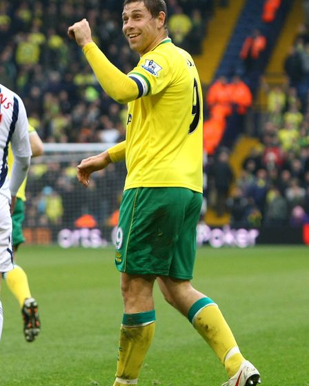 This is what happens when away fans (West Brom's in this instance) give Grant Holt abuse Picture by