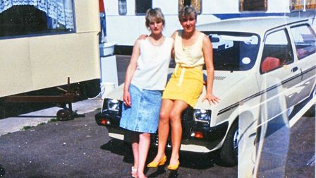 Historic photos from the Mile Cross traveller site. Picture: William Brazil