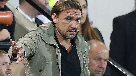 Daniel Farke is out to inflict a first defeat on new Leeds' boss Marcelo Bielsa Picture: Paul Cheste