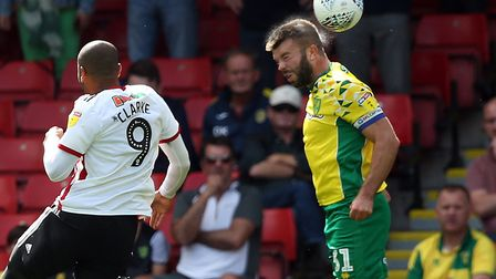 Grant Hanley will be a late fitness call with a shin injury Picture: Paul Chesterton/Focus Images Lt