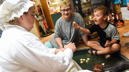 Fun at Ancient House Museum, Thetford Credit: Norfolk County Council