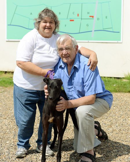 Chris and George Rockingham who run PACT Animal Sanctuary in Woodrising. Picture: Matthew Usher.