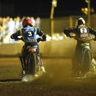 Ty Proctor and Kyle Howarth fire out of the gate. Picture: Ian Burt