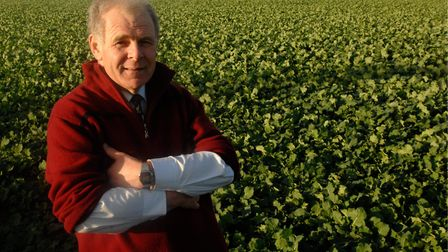 Norfolk farming champion David Papworth, who has died at the age of 73. Picture: Colin Finch