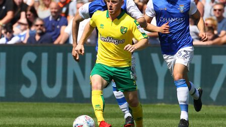 Former Norwich loanee Harrison Reed is reportedly close to joining Blackburn Picture: Paul Chesterto