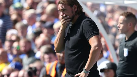 Daniel Farke will be hoping his Norwich City side come good against Preston on Wednesday night.Pictu