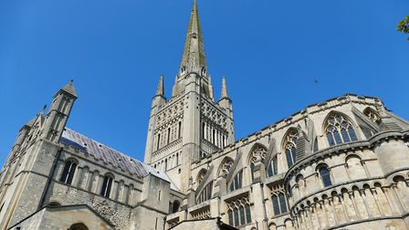 Norwich Cathedral. PHOTO: Lesley Buckley
