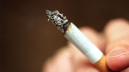 Stock photo of a cigarette being smoked. Photo: Michael Crabtree