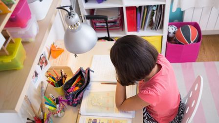 Making sure that your child has everything they need closeby can help to minimise distractions