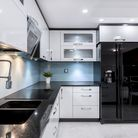 Once the kitchen is clear from clutter and clean you can decide what needs to go back on the surface