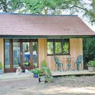 A garden office creates a useful space while being separate from the main house. Picture Garden Room