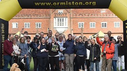 Ormiston Families' Walk with a Fork 2017 Picture: Pagepix Ltd