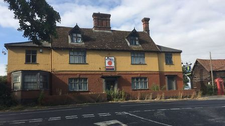 The former Mermaid pub, Hedenham, for sale at auction. Pic: www.brown-co.com