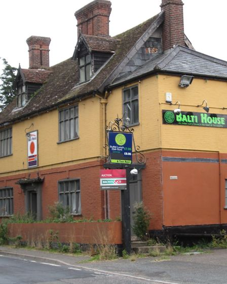 The former Mermaid Inn, Hedenham, for sale at auction. Pic: www.brown-co.com