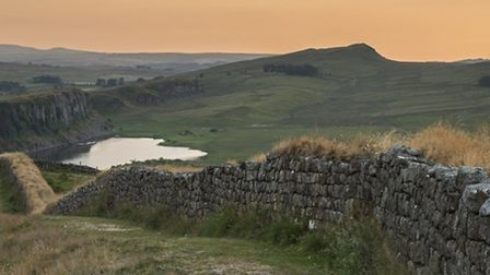 Neil Featherby is planning to run the 84 miles of Hadrian's Wall in 24 hours. Picture: Neil Featherb