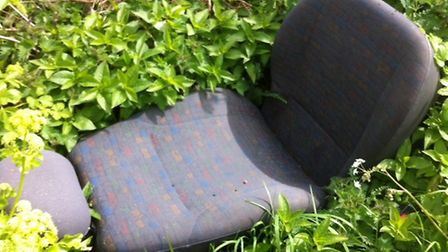Fly tipping in the Lowestoft area. Photo: Lynn Mummery