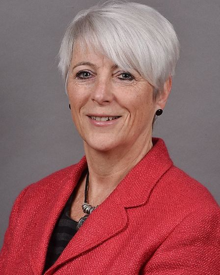 Alison Thomas, county councillor for Long Stratton, who has held talks to resolve issues over work o