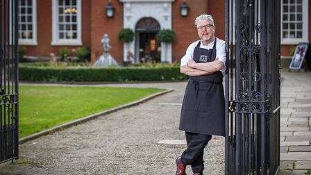 Richard Hughes of The Assembly House in Norwich launches a new food festival (C) Chris Taylor