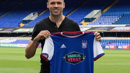 Ipswich Town have signed forward Jon Walters on loan from Burnely until January. Photo: ITFC