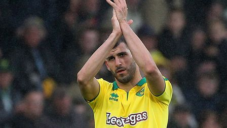 Oliveira scored eight goals in 40 games for the Canaries last season Picture: Paul Chesterton/Focus