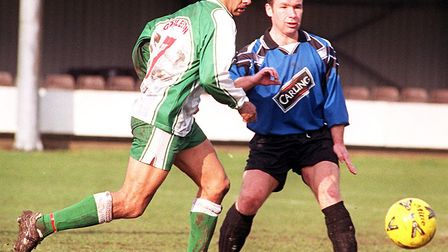 Dale Gordon in action for Gorleston. Picture: Archant
