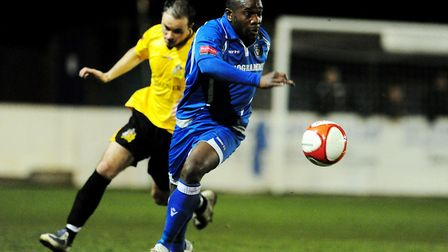 Adrian Forbes playing for Lowestoft Town. Picture: Archant
