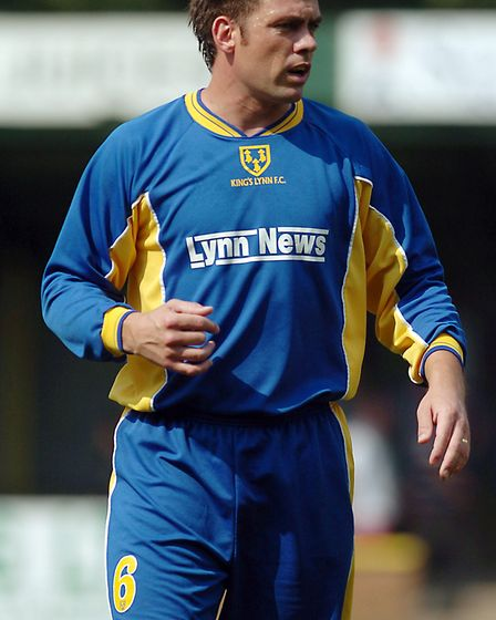 Daryl Sutch in action for King's Lynn Town. Picture: Archant