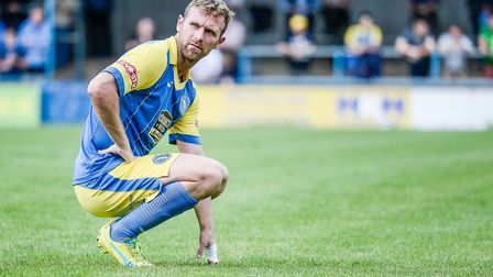 Ryan Jarvis in action for King's Lynn Town. Picture: Archant