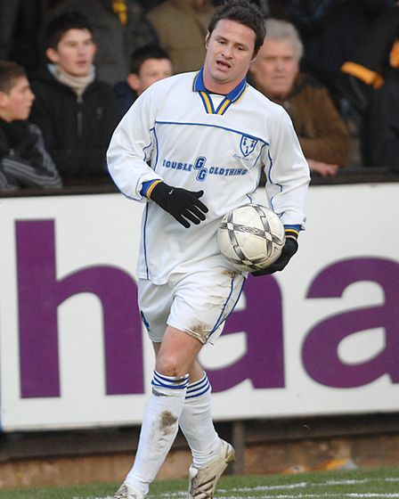 Phil Mulryne in action for King's Lynn Town. Picture: Archant
