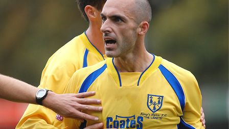 Craig Fleming in action for King's Lynn Town. Picture: Archant