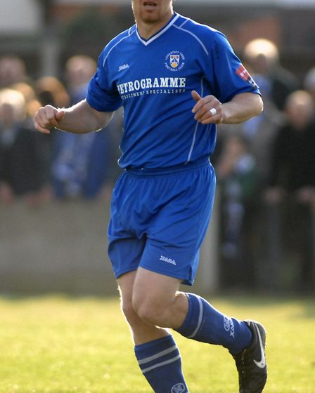 Gary Holt in action for Lowestoft Town. Picture: Archant