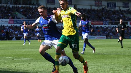 Dennis Srbeny came on as a late substitute at Portman Road