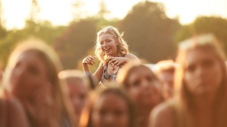Scenes from the fiirst day of the Sundown Festival. Picture: Ian Burt