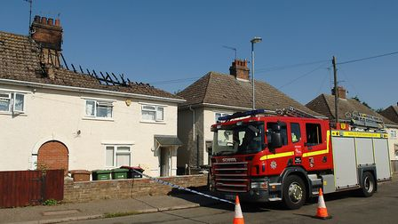 The house in Losinga Road, King's Lynn, where a person died in a fire Picture: Chris Bishop