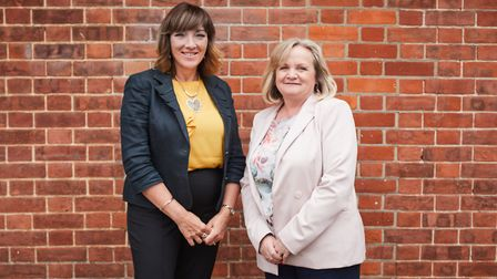Director of nursing and quality Anna Morgan (left) and chief executive Josie Spencer Picture: DENISA