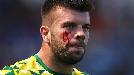 Grant Hanley led from the front at Portman Road Picture: Paul Chesterton/Focus Images Ltd