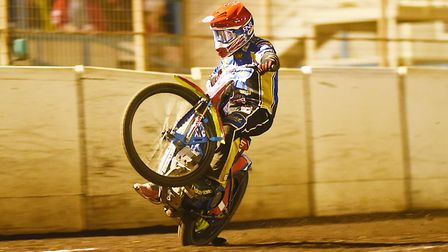 Robert Lambert was in the thick of the action on a dramatic night in the Midlands Picture: Ian Burt