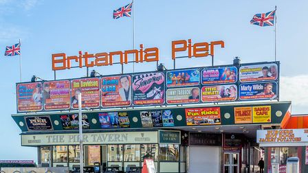 Britannia Pier on Great Yarmouth seafront. Photo: Iwitness