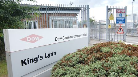 The Dow Chemical factory in King's Lynn Picture: Chris Bishop