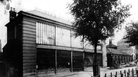 The Crystal House in Norwich pictured in the 19th century when it was owned by Holmes & Sons.Picture